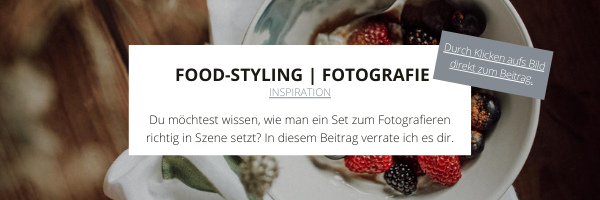 Food Styling | Fotografie